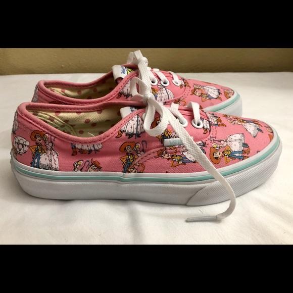 22946560192256 Vans Off The Wall Disney Bo Peep Sneakers Kids 1